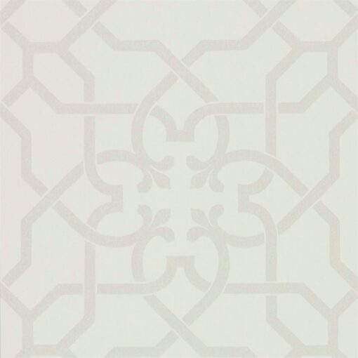 Mawton Wallpaper from the Chiswick Grove Collection by Sanderson in Dove and Stone