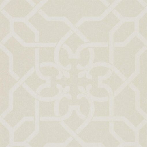 Mawton Wallpaper from the Chiswick Grove Collection by Sanderson in Ivory