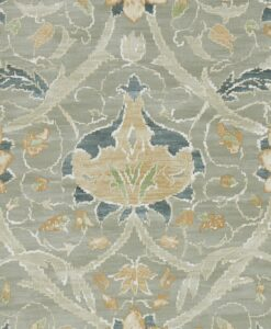 Montreal Wallpaper from the Archive IV collection by Morris & Co in Grey & Charcoal