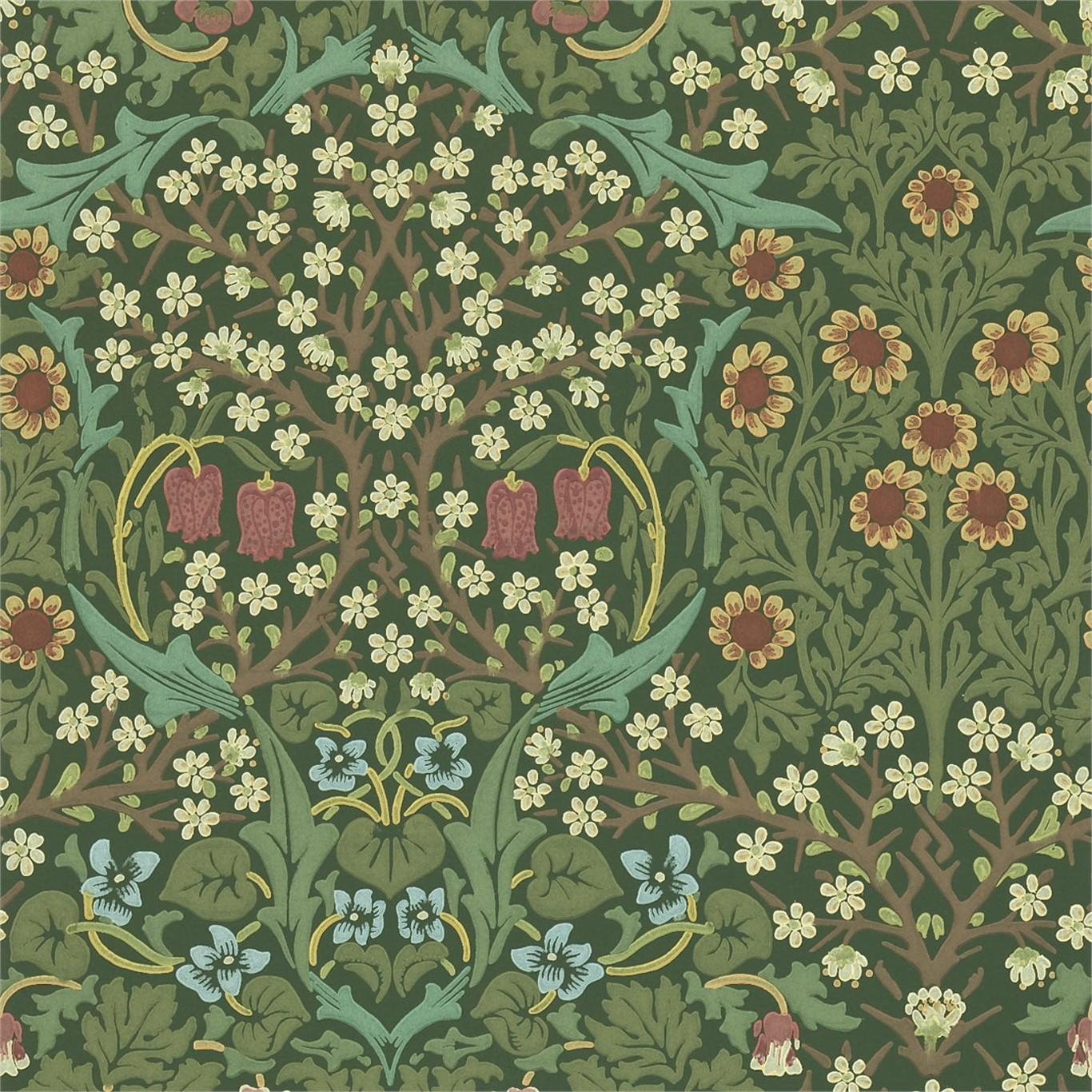 Blackthorn Wallpaper Sample