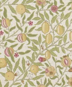 Fruit Wallpaper from the Craftsman Wallpapers by Morris & Co.