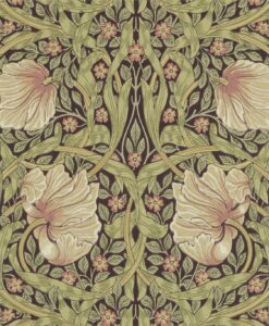 Pimpernel Wallpaper by Morris & Co in Bullrush and Privet