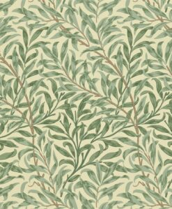 Willow Boughs wallpaper from the Craftsman Wallpapers by Morris & Co. in green