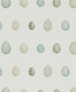 Nest Egg Wallpaper in Eggshell & Ivory