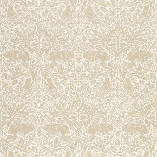 Pure Brer Rabbit Wallpaper by Morris & Co. in Linen