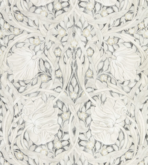 Pure Pimpernel wallpaper from Morris & Co in black