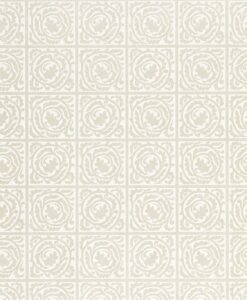 Pure Scroll wallpaper by Morris & Co. in white clover