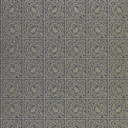 Pure Scroll wallpaper by Morris & Co. in Black Ink