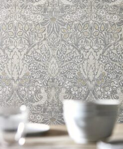 Pure Dove and Rose wallpaper from Morris & Co.'s Pure North Collection