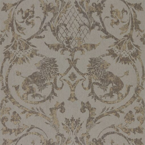 Landseer Wallpaper by Zophany in Antique Bronze