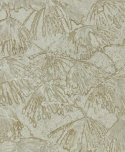 Iliad Wallpaper from the Kempshott Collection by Zophany in Antinque Bronze