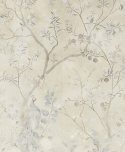 Rotherby Wallpaper from the Kempshott Collection by Zophany in Indienne