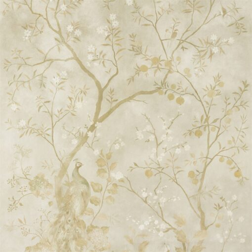 Rotherby Wallpaper from the Kempshott Collection by Zophany in Old Gold