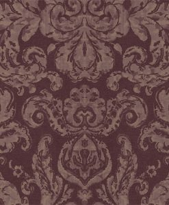 Brocatello Wallpaper from the Damask Wallpapers Collection by Zophany in Oxen