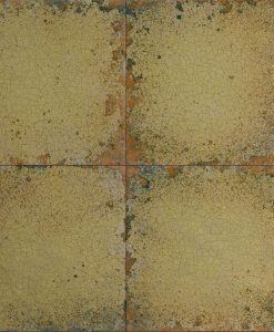 Lustre Tile Wallpaper from The Muse Collection by Zophany in Gold