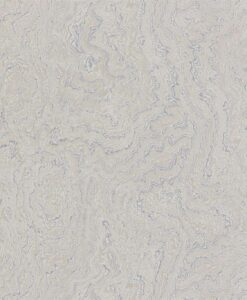 Suminagashi Wallpaper from the Oblique Collection by Zophany in Mercury