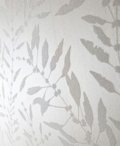 Close up of Chaconia Shimmer Wallpaper from the Anthozoa Collection by Harlequin