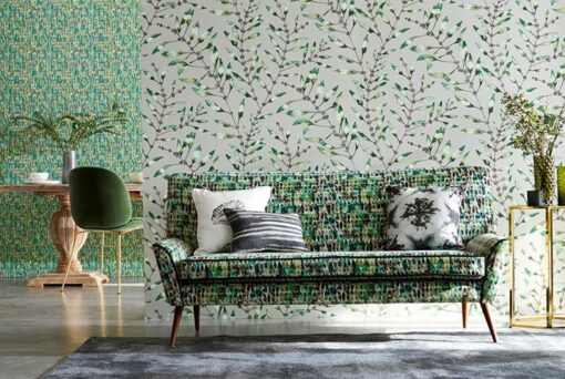 Chaconia Wallpaper from the Anthozoa Collection
