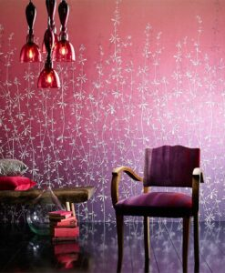 Hortelano Wallpaper from the Callista Collection by Harlequin Wallpaper