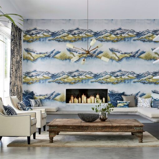 Kailani Wallpaper from the Anthozoa Collection by Harlequin