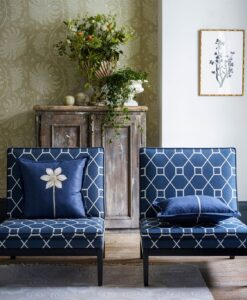 Mapperton Wallpaper from The Art of the Garden Collection by Sanderson Home