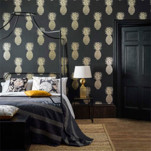 Pineapple Royale Wallpaper from The Art of the Garden Collection by Sanderson Home