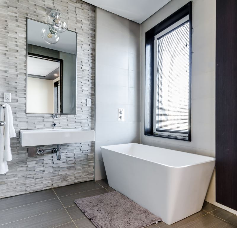 Bathroom and bath