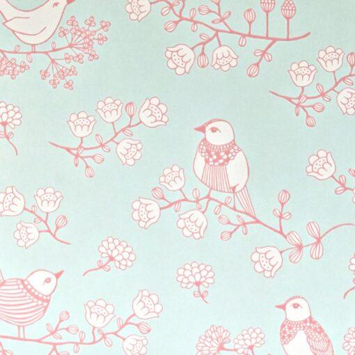 Sugar Tree wallpaper by Majvillan in Turquoise