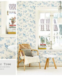 Sugar Tree wallpaper by Majvillian in Blue 106-01