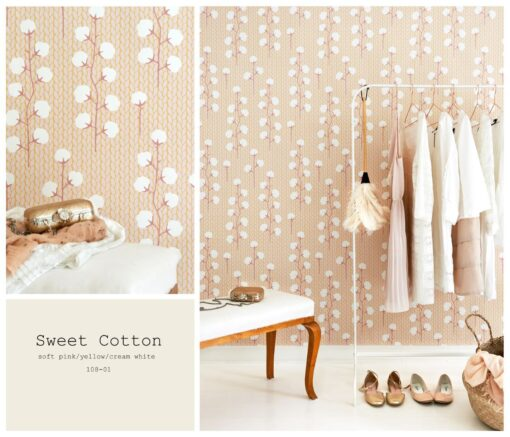 Sweet cotton 108-02 by Majvillan