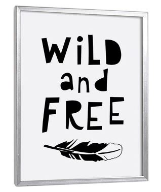 Wild and Free - Wall art