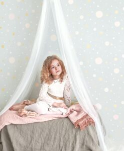 Confetti Wallpaper by Majvillan in Grey 117-01 A