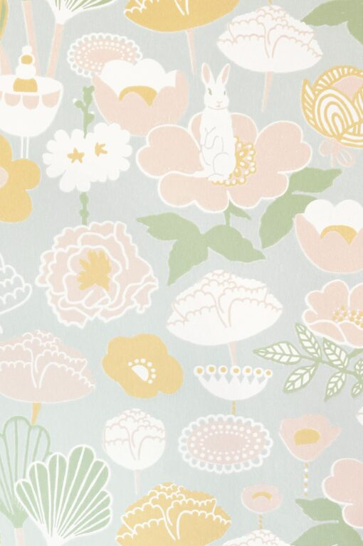 Little Light Wallpaper by Majvillan in grey114-01