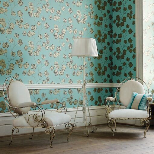 Bonica Wallpaper from the Poetica Collection by Harlequin