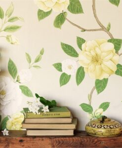 Christabel Wallpaper from the Voyage of Discovery Collection by Sanderson Home