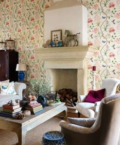 Clementine Wallpaper from the Voyage of Discovery Collection