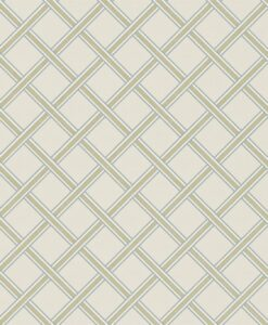 Gilt Trellis Wallpaper