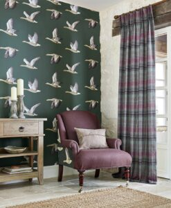 Elysian Geese Wallpaper - from the Elysian Collection by Sanderson