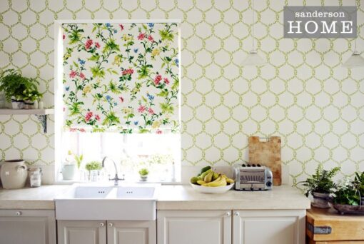 Fleur Trellis Wallpaper from Maycott Wallpapers by Sanderson Home