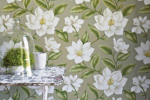 Grandiflora wallpaper from A Painter's Garden
