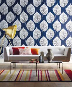 Leaf Wallpaper from Momentum 02 Wallcoverings
