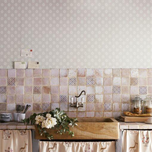 Florrie Wallpaper from Fabienne Wallpapers - kitchen
