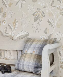 Warwick Wallpaper from the Elysian Collection
