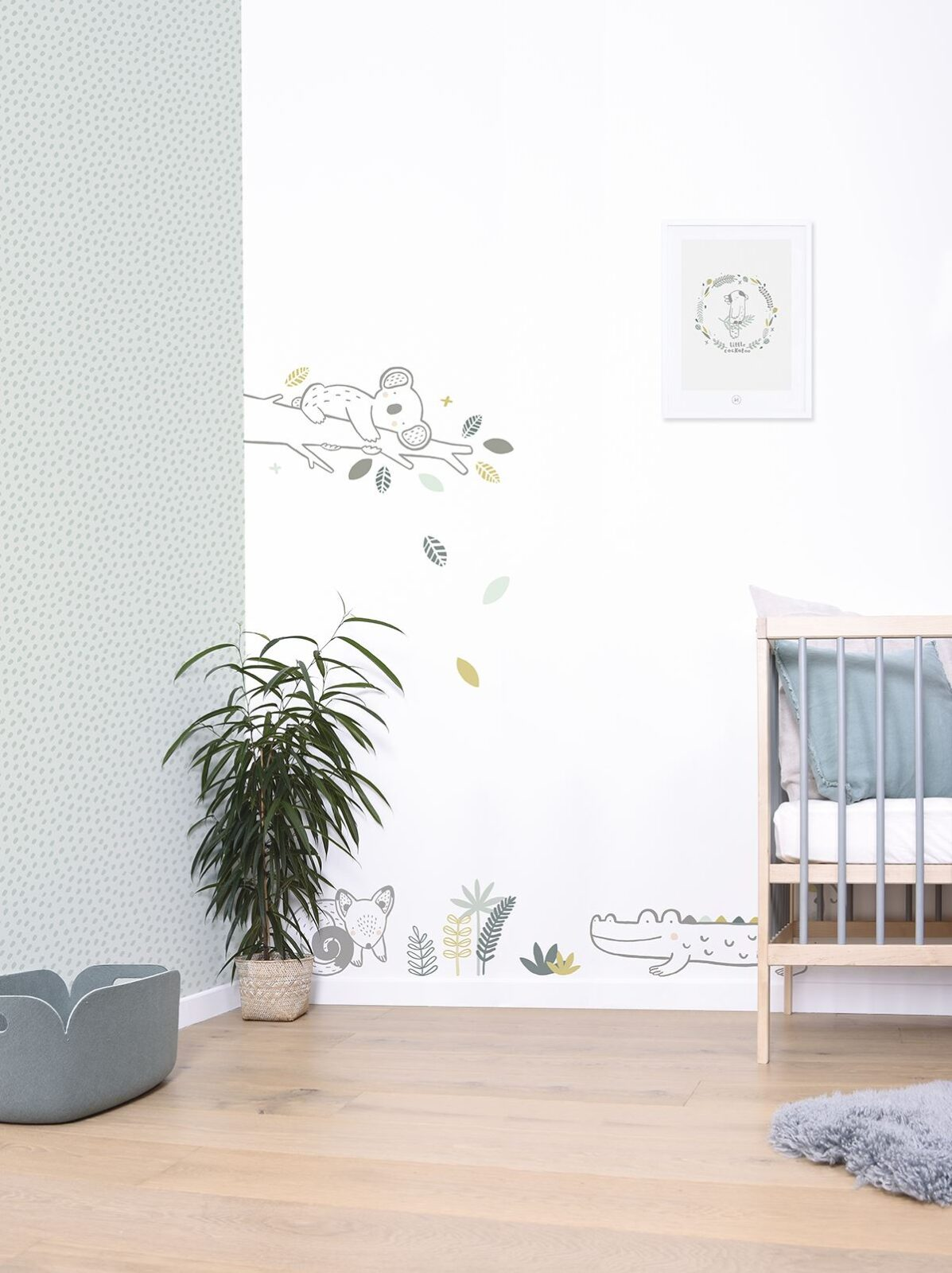 Decorating a kid's nursery