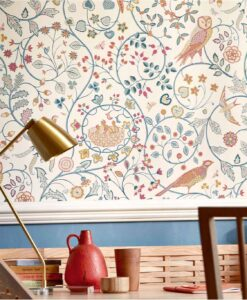 Newill Wallpaper from the Melsetter Collection by William Morris